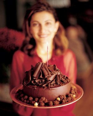 Candied Hazelnuts and Chocolate Curls