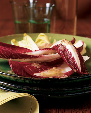 Endive and Treviso Radicchio Salad with Anchovy Dressing
