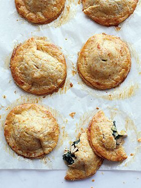 Chicken And Kale Hand Pies With Cheddar Crust Martha Stewart