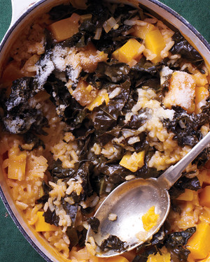 Butternut Squash Baked Risotto