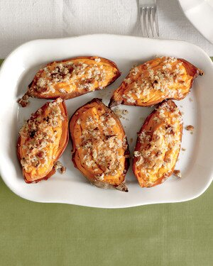 Twice Baked Sweet Potatoes Recipe Martha Stewart