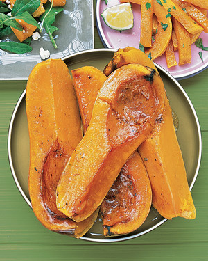 Butternut Squash with Maple Butter