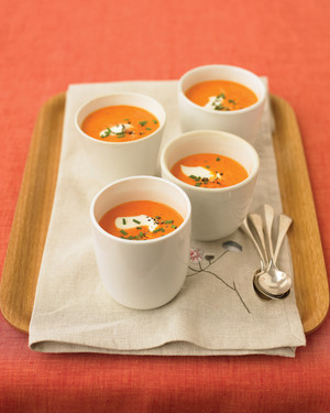 Creamy Red-Pepper Soup