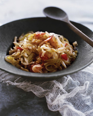 Shredded Sauteed Cabbage