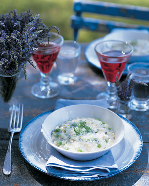 Spring Pea and Herb Risotto
