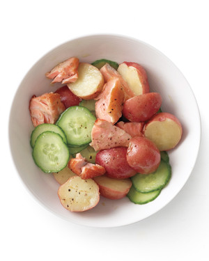 Salmon-Potato Salad