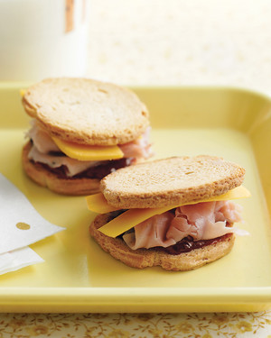 Ham and Cheese Crackerwiches