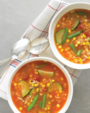 Late-Summer Vegetable Soup