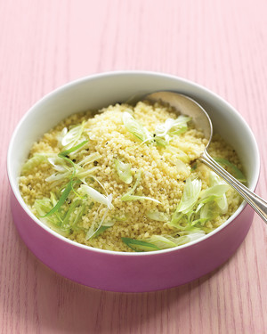 Couscous with Coriander and Scallions