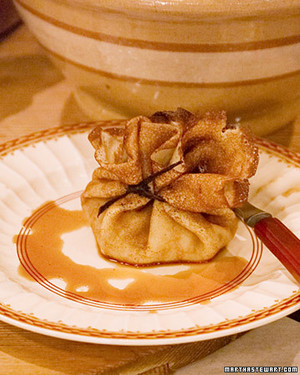 Jacques Torres's Crepes with Caramelized Pears