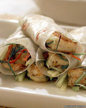 Donna's Chile Rice-Paper Rolls