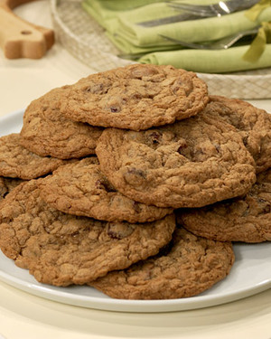 Oatmeal and Dried Cherry Cookies
