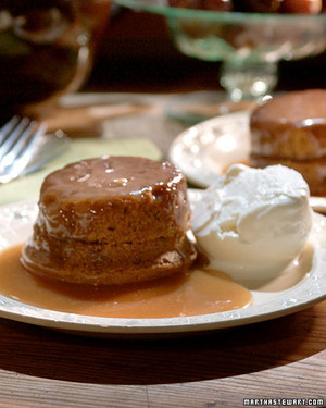 Individual Sticky Toffee Puddings