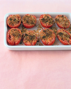 Baked Plum Tomatoes