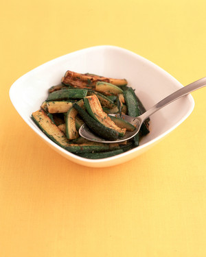 Easy Dilled Zucchini image