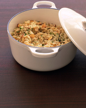 Rice Pilaf with Toasted Almonds