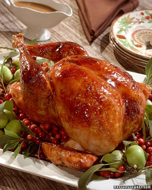 Cranberry-Glazed Turkey