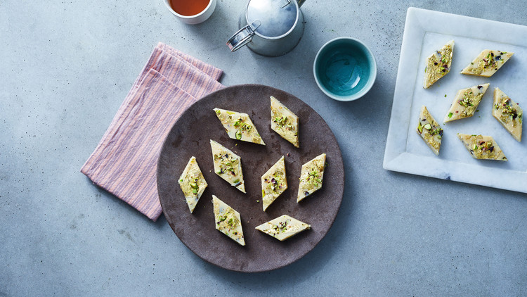 barfi plate appetizers