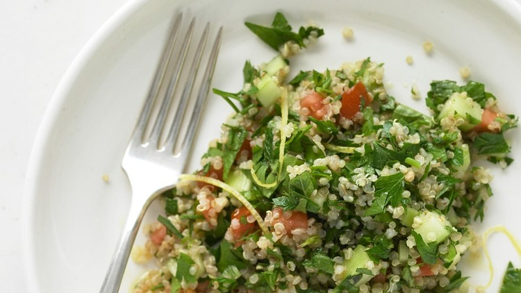 Quinoa Tabbouleh with Basil