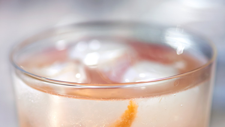 Gin-and-Grapefruit Fizz