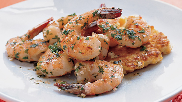 Shrimp with Garlic and Lemon