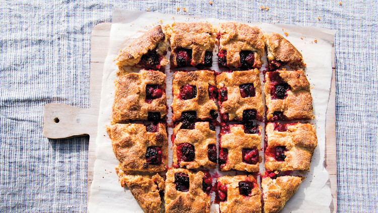 Double-Crust Berry Free-Form Pie