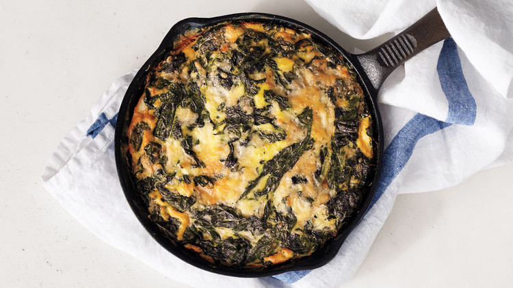 Mostly Greens Frittata