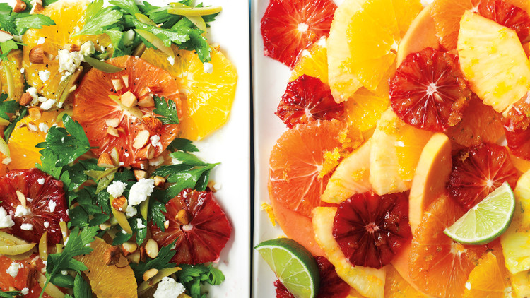 Orange and Tropical Fruit Salad