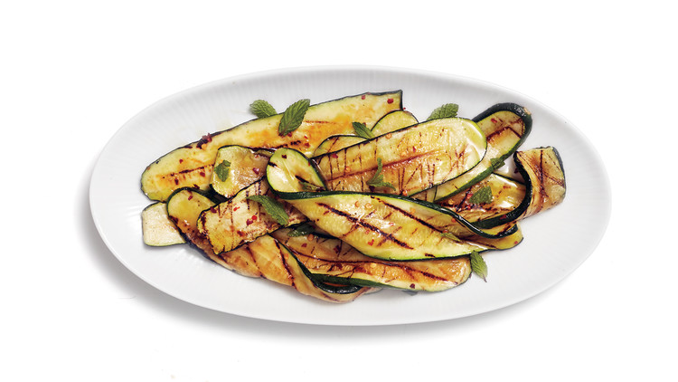 Grilled Zucchini with Sherry Vinegar