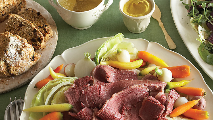 Homemade Corned Beef with Vegetables