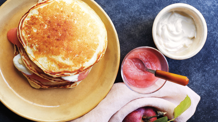Applesauce Pancakes Recipe Martha Stewart