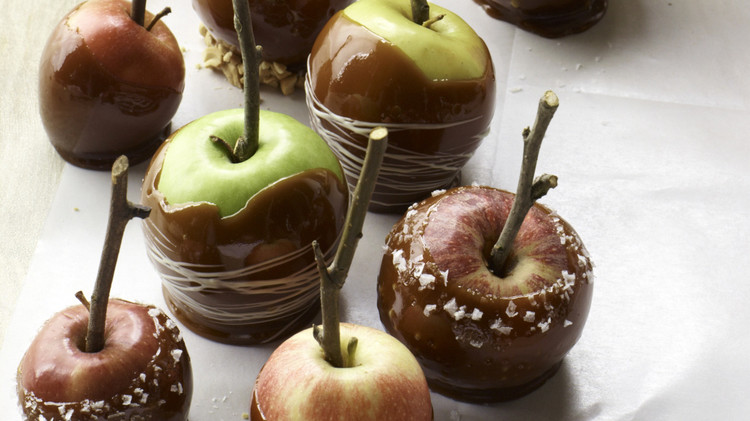 Caramel Apples Recipe Martha Stewart