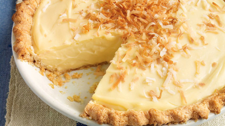 Coconut Custard Pie Recipe Martha Stewart