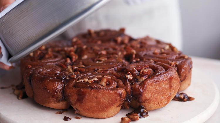 Whole-Wheat Brown-Sugar Sticky Buns
