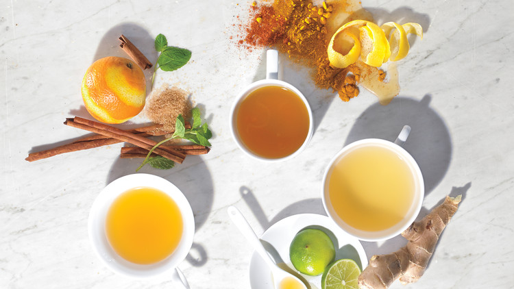 """Ginger and Lime """"Tea"""""""