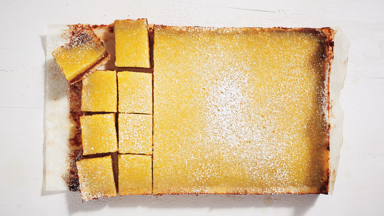 Lemon-Date Bars