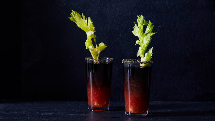 Halloween Bloody Mary Shooters Riley Wofford