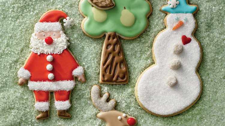 Royal Icing for Holiday Sugar Cookies