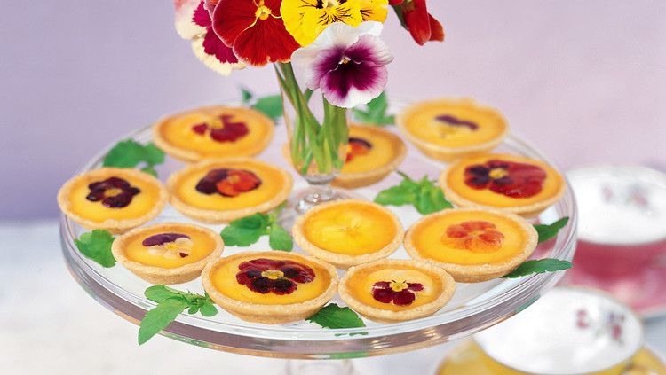 Pate Brisee for Pansy Tartlets