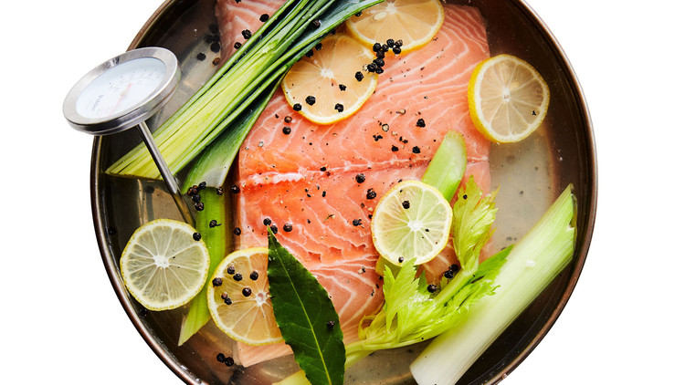 Easy Skillet-Poached Salmon