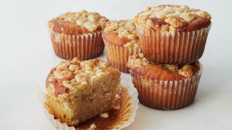 Maple Muffins with Oat Streusel