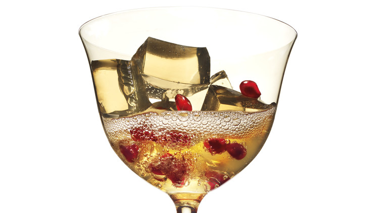 Champagne Gelee Cocktail