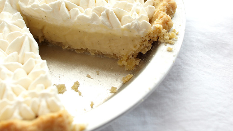 Rum-Vanilla Cream Pie
