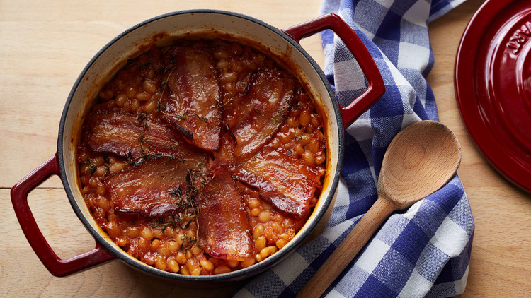 Baked Beans with Bacon