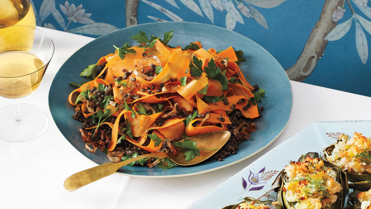 Carrot-and-Lentil Salad
