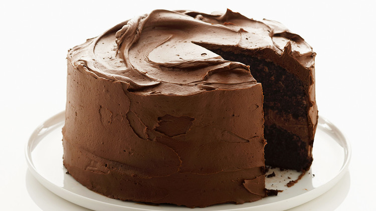 Chocolate Frosting for One-Bowl Chocolate Cake