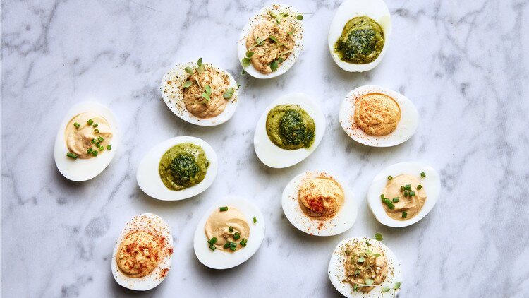Rich Deviled Eggs Martha Stewart