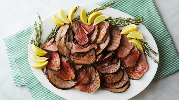 Martha's Butterflied, Rolled, and Roasted Leg of Lamb