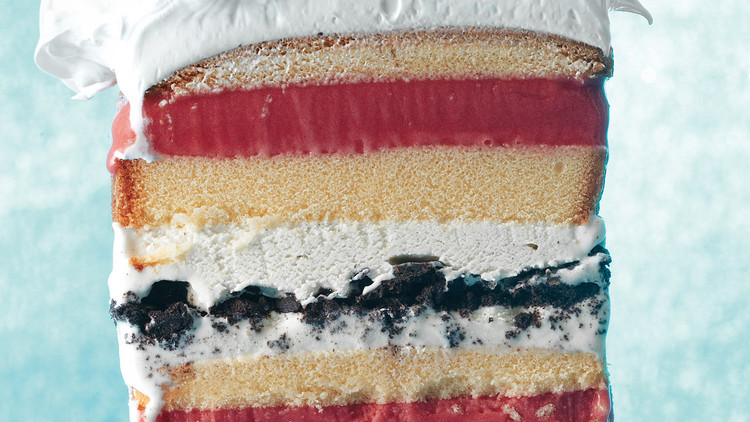 7-Layer Ice Cream Cake