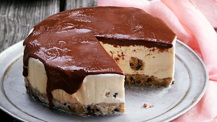 blondie ice cream cake